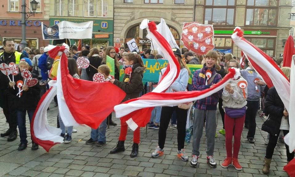 Wyniki Konkursu Radosna Parada Niepodległości 2014