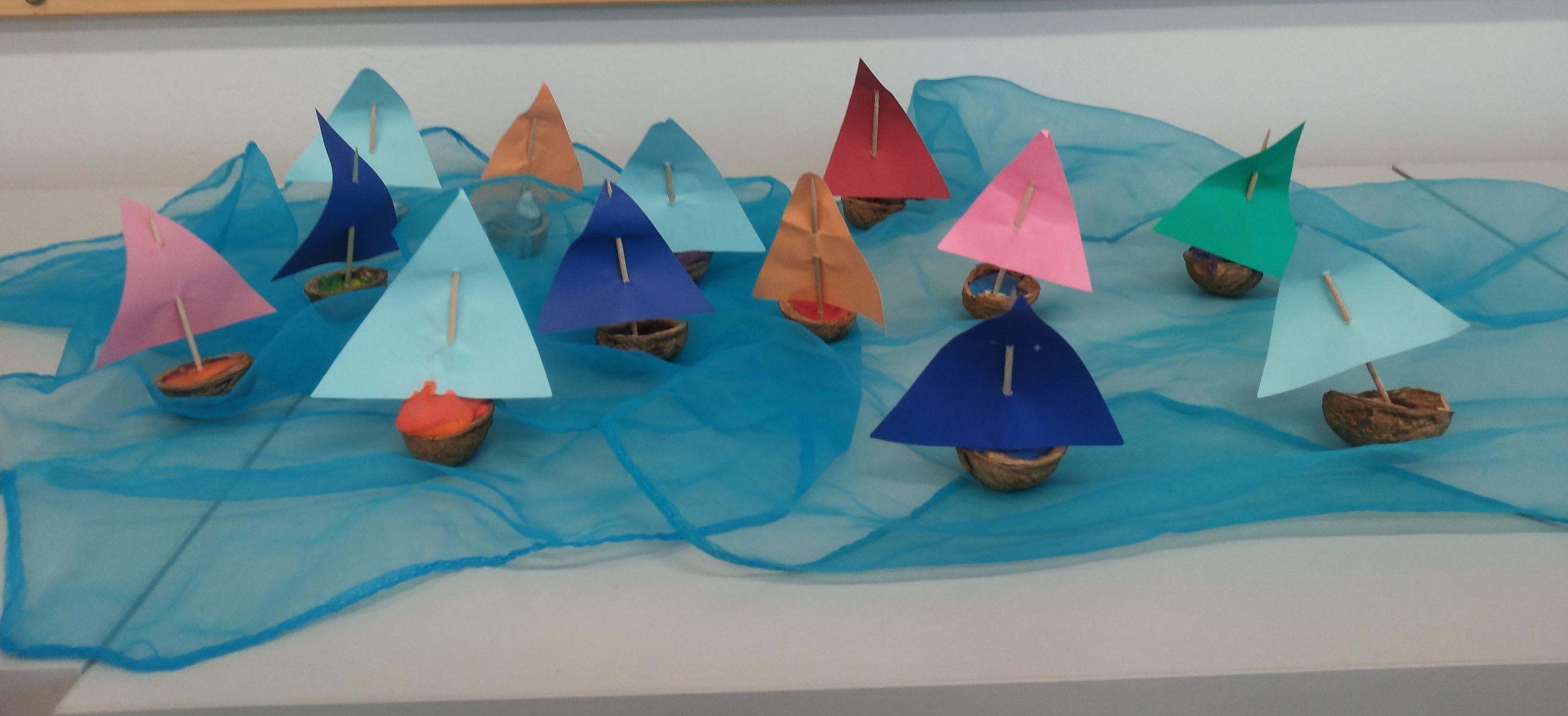 łódeczki w klasie 1b