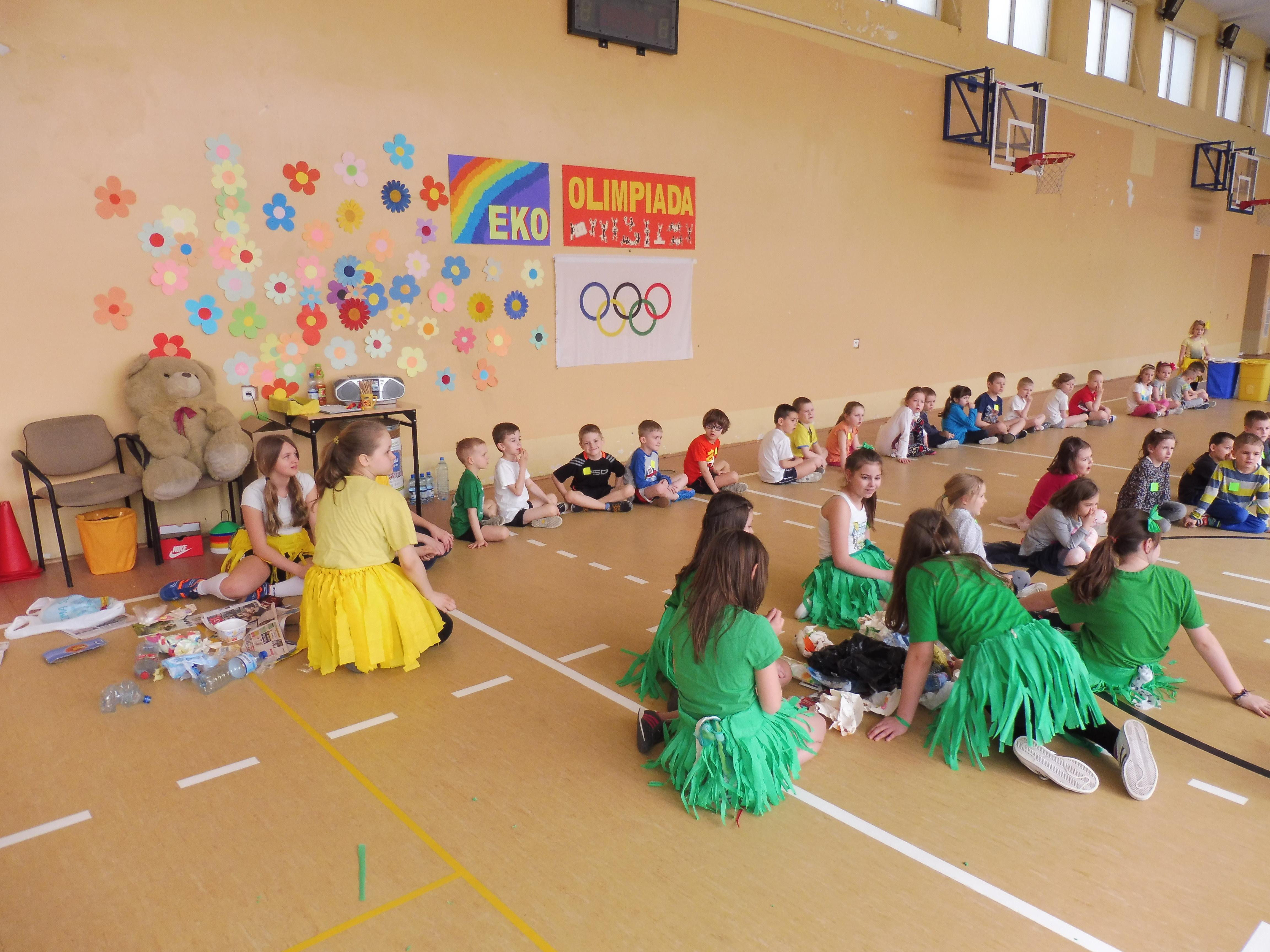 Eko – olimpiada dla przedszkolaków, 20 kwietnia 2016 r.