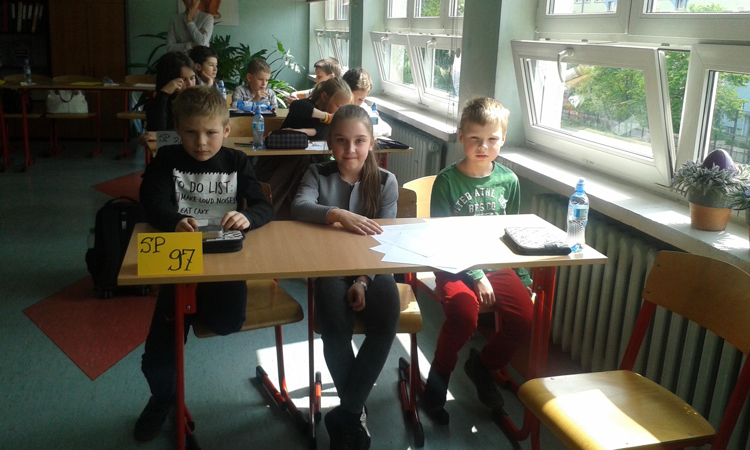 W Meczach Matematycznych Czwartaków zajęliśmy trzecie miejsce!