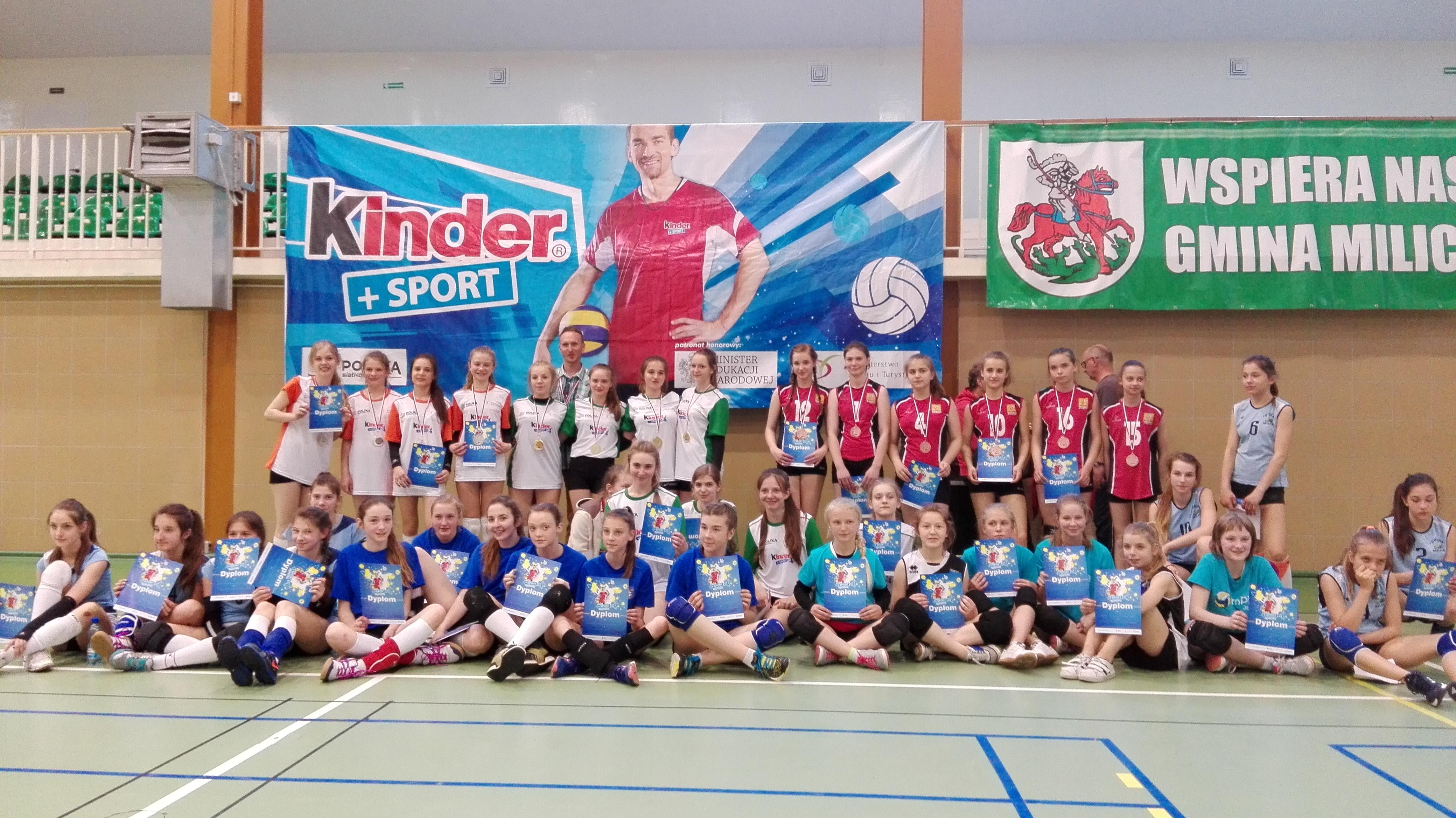 Kinder+Sport:) = złoto i srebro dla nas!