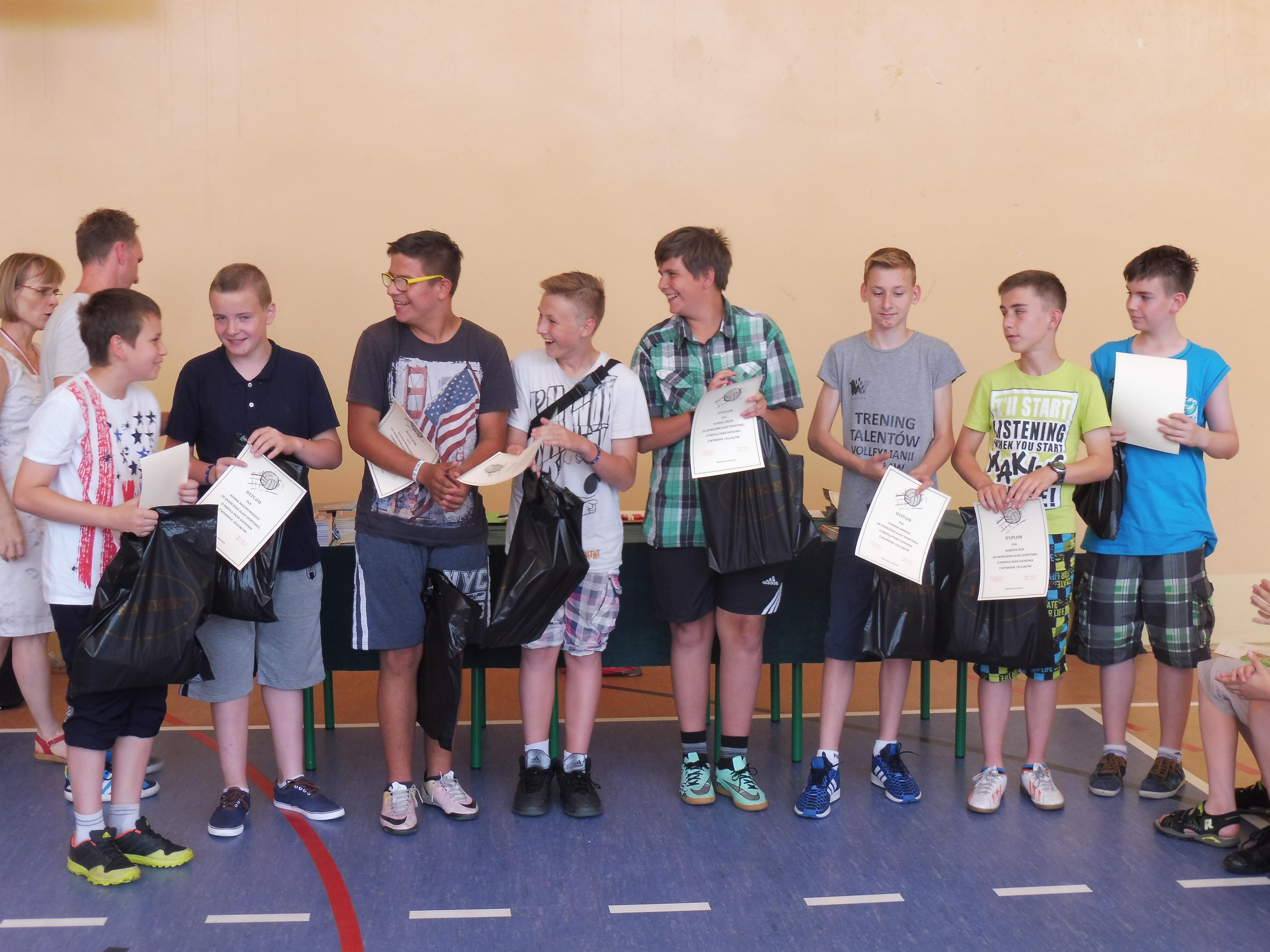 Podsumowanie osiągnięć w konkursach klas IV-VI
