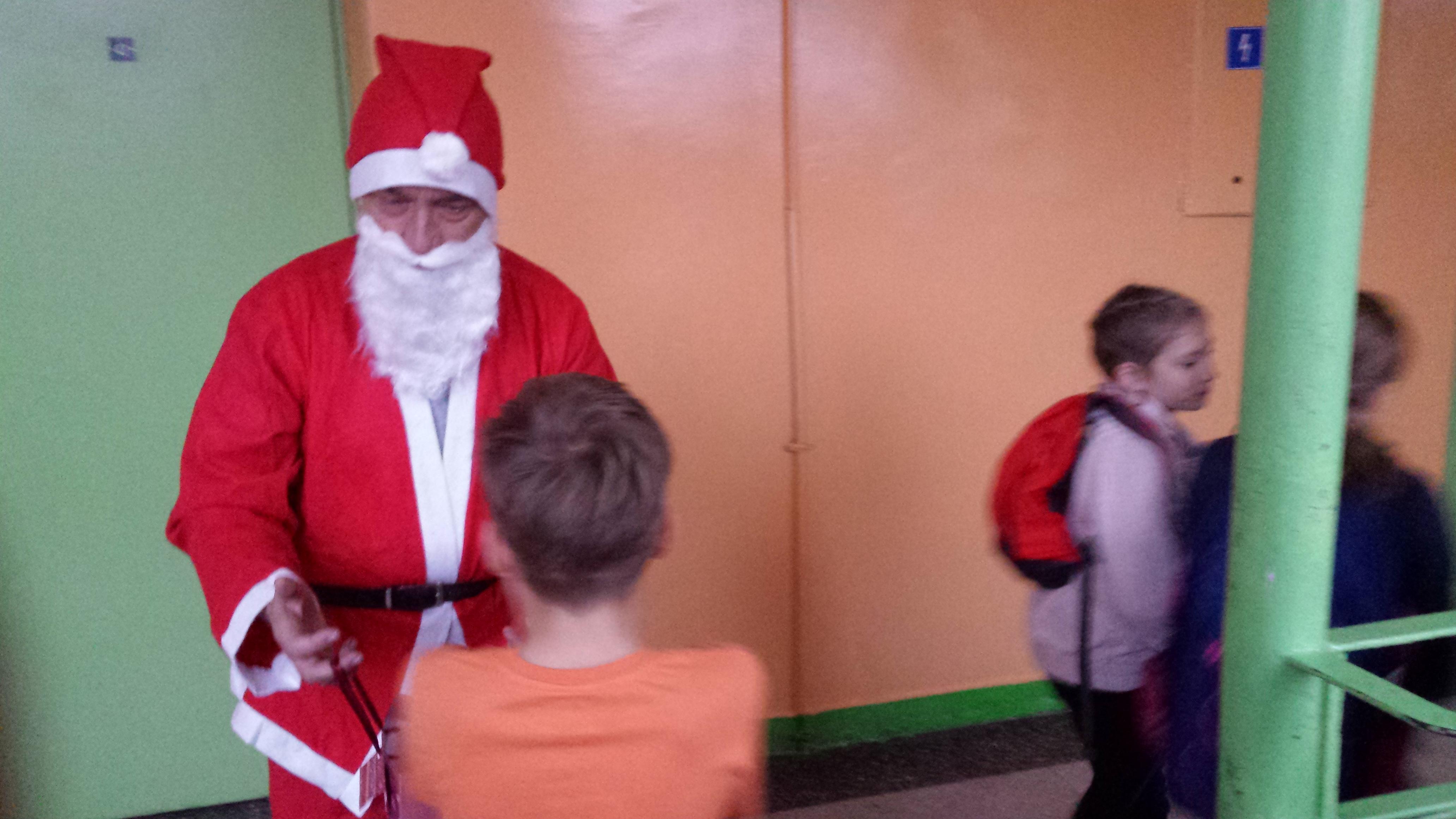 Święty Mikołaj…
