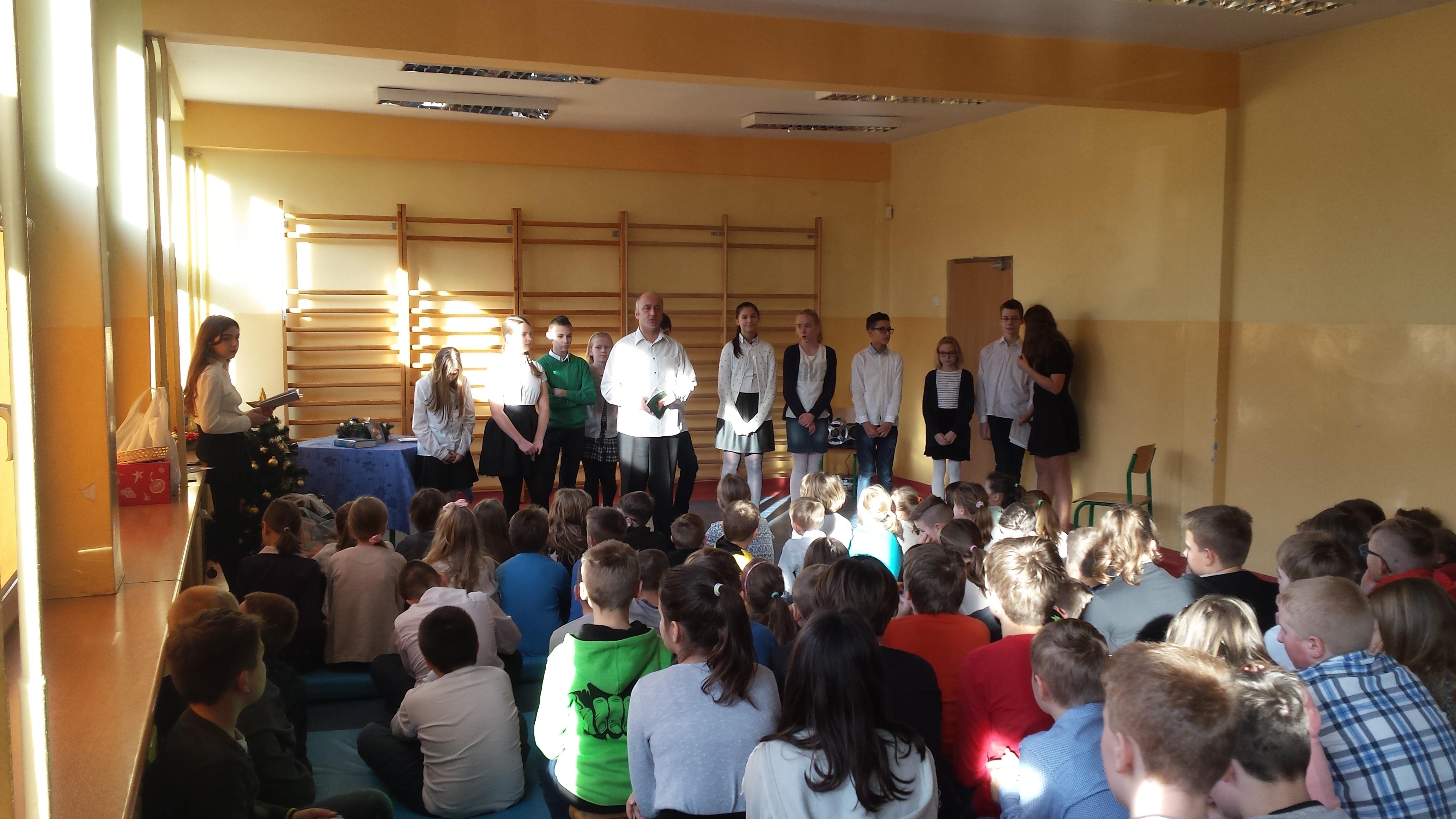 Wigilia  i Jasełka w szkole