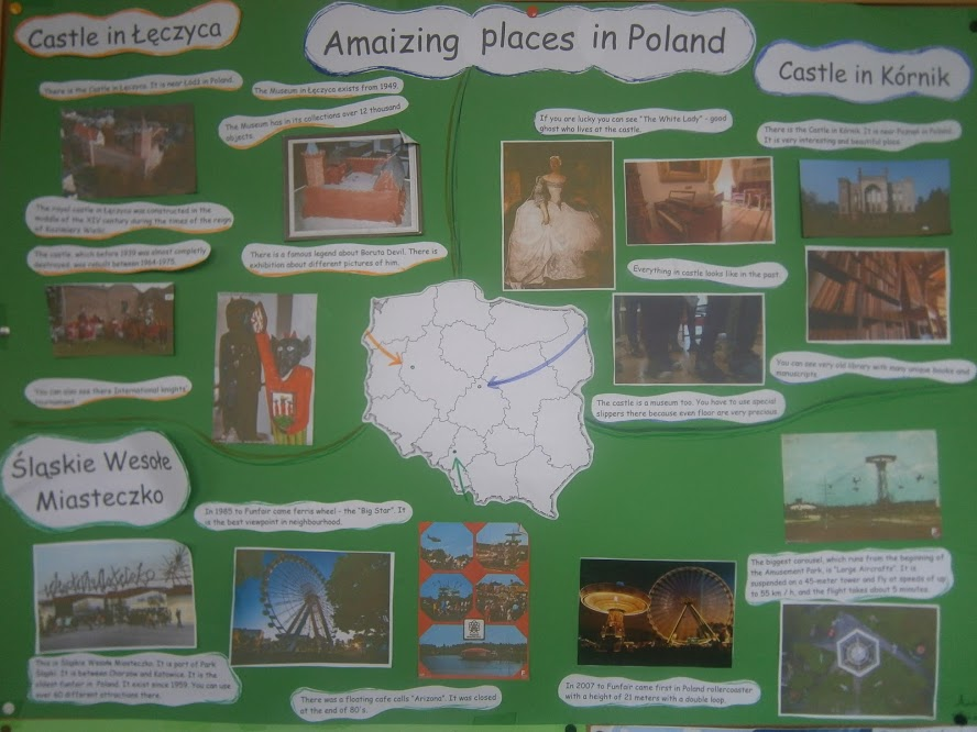 "PROJEKT KLAS CZWARTYCH "" AMAIZING PLACES IN POLAND"""