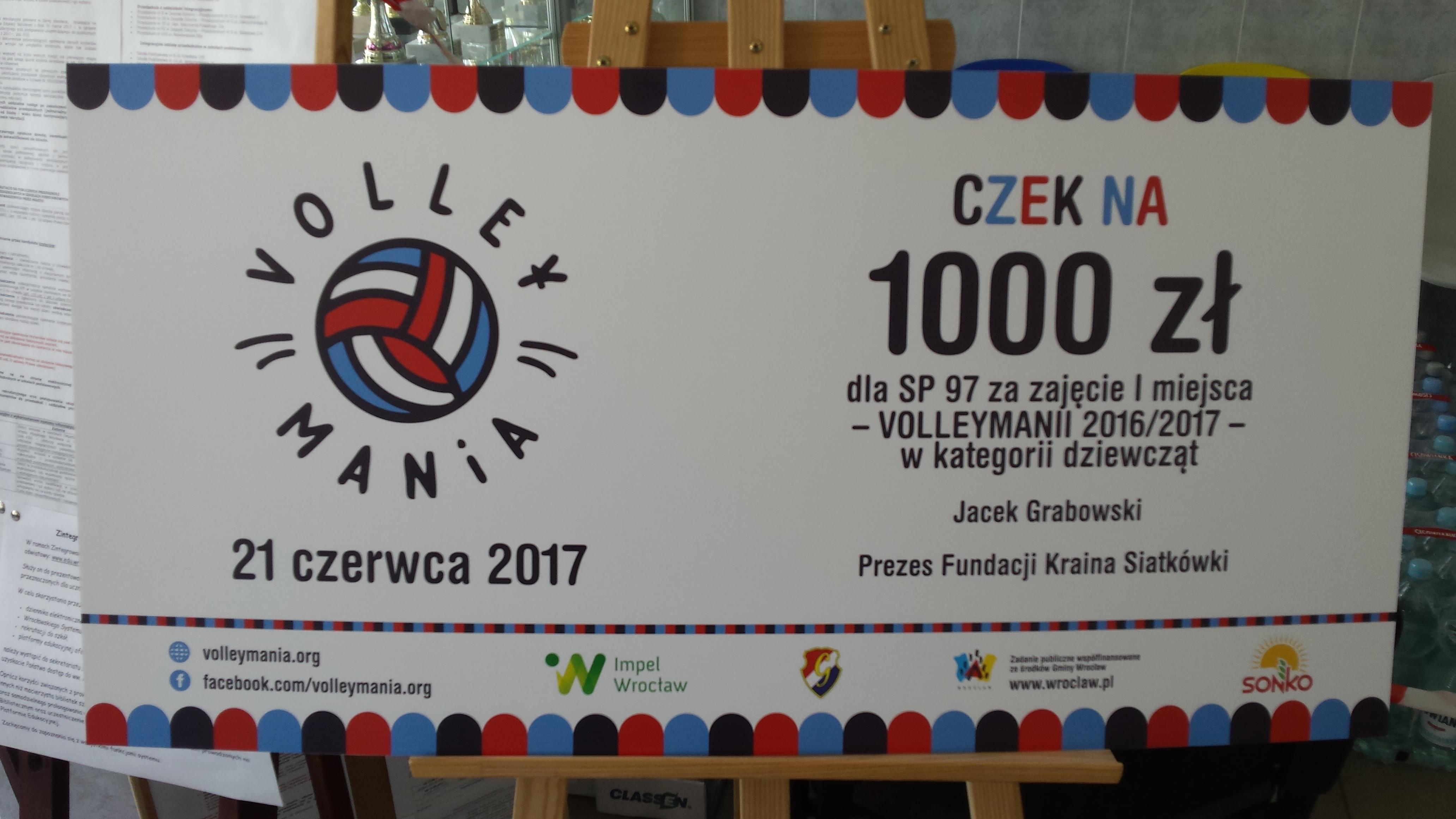 Zwycięstwo w Volleymanii