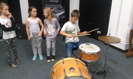 Zajęcia edukacyjne kl. I-III w Szkole Muzyki Współczesnej, 26 października 2017 r.