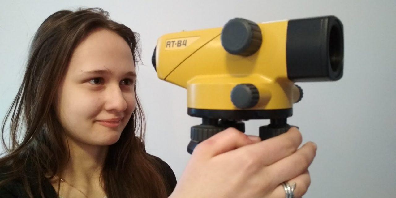 Roboty i geodezja chodzą w parze