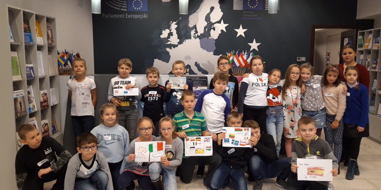 Klasa 3a w Domu Europy