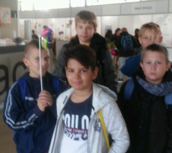 Nasi uczniowie na Festiwalu Nauki