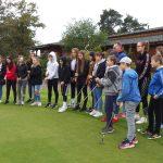 VIII a i b na polu golfowym